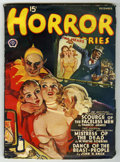 Pulps:Horror, Horror Stories V10#3 (Popular, 1940) Condition: VG-....