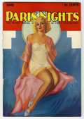 Magazines:Miscellaneous, Paris Nights V8#8 (Red Top Publications, 1930) Condition: VG+....