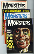 Magazines:Horror, Famous Monsters of Filmland Group (Warren, 1962-82) Condition: VG/FN.... (Total: 9 Comic Books)