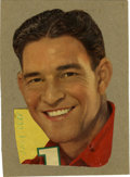 Autographs:Others, Mel Ott Cut Signature from 1940s Velvet Advertising Display. Herewe offer Mel Ott's likeness as it appeared on an advertis...