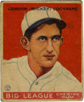 Baseball Cards:Singles (1930-1939), 1933 Goudey Baseball Mickey Cochrane #76. Hall of Fame backstopshown with the Philadelphia Athletics on this 1933 Goudey gu...