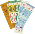 Baseball Collectibles:Tickets, 1966 World Series Tickets/Stubs Lot of 4. From the 1966 WorldSeries that pitted the LA Dodgers against the Baltimore Oriol...
