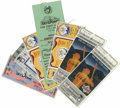 Baseball Collectibles:Tickets, 1983-91 MLB All-Star Game Tickets/Stubs Lot of 5. Two full ticketsfrom the 1983 50th anniversary of the All-Star Game are ...