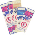 Baseball Collectibles:Tickets, 1982 World Series Tickets/Stubs Lot of 5. This fine collection fromthe 1982 World Series between the St. Louis Cardinals a...