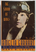 Books:Biography & Memoir, [Amelia Earhart]. Mary S. Lovell. The Sound of Wings. St.Martin's, 1989. First edition. In original dj. Some ru...