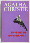 Books:Mystery & Detective Fiction, Agatha Christie. Passenger to Frankfurt. Dodd, Mead, [1970].First American edition. In original dj. Jacket spin...