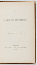 Books:Literature Pre-1900, Henry Wadsworth Longfellow. The Seaside and the Fireside.Ticknor, 1850. First edition. Original paper backstrip...