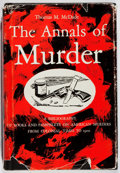 Books:Books about Books, [Books About Books]. Thomas M. McDade. The Annals of Murder.Oklahoma, [1961]. First edition. In original price-clip...