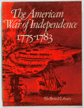 Books:Books about Books, [Books About Books]. [British Library]. The American War of Independence 1775-1883. First edition. Quarto. In origin...