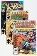 Modern Age (1980-Present):Miscellaneous, Marvel Modern Age Comics Group (Marvel, 1980s) Condition: Average NM.... (Total: 18 Comic Books)