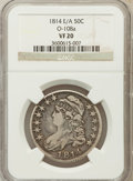 Bust Half Dollars, 1814/3 50C E/A VF20 NGC. O-108a. NGC Census: (5/422). PCGSPopulation (5/148). Numismedia Wsl. Price for problem free NGC/...