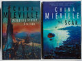 Books:Science Fiction & Fantasy, [Jerry Weist]. SIGNED. China Mieville. Two Titles, including: Perdido Street Station; The Scar. Macmillan, 2000, 200... (Total: 2 Items)