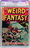 Golden Age (1938-1955):Science Fiction, Weird Fantasy #14 (EC, 1952) CGC Apparent VF 8.0 Slight (A) Creamto off-white pages....