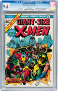 Bronze Age (1970-1979):Superhero, Giant-Size X-Men #1 (Marvel, 1975) CGC NM 9.4 White pages....