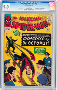 The Amazing Spider-Man #12 (Marvel, 1964) CGC VF/NM 9.0 White pages