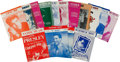 Music Memorabilia:Sheet Music, Elvis Presley Vintage Sheet Music Collection of Fifteen(1956-1972). ... (Total: 15 Items)
