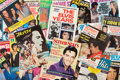 Music Memorabilia:Memorabilia, Elvis Presley Collection of Twenty-Four Later Fan Magazines(1965-1977). ... (Total: 24 Items)