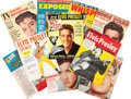 Music Memorabilia:Memorabilia, Elvis Presley Collection of Ten Early Fan Magazines (1956-1960).... (Total: 10 Items)