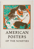 Books:Art & Architecture, Roberta Wong [introduction]. American Posters of the Nineties. Boston Public Library, 1974. First edition, first...