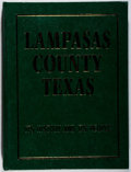 Books:Americana & American History, Lampasas History Book Committee [editors]. Lampasas CountyTexas. Walsworth, 1991. First edition, first printing...