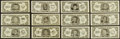 Football Cards:Sets, 1962 Topps Football Bucks Inserts Complete Set (48). ...