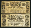 Obsoletes By State:Louisiana, New Orleans, LA- Canal Bank $10; $20. ... (Total: 2 notes)