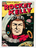 Golden Age (1938-1955):Science Fiction, Rocket Kelly #1 (Fox Features Syndicate, 1945) Condition: FN....