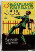 Books:Mystery & Detective Fiction, Edgar Wallace. The Square Emerald. Musson, 1932. First Canadian edition, first printing. Spine sunned. Owner's inscr...