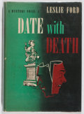 Books:Mystery & Detective Fiction, Leslie Ford. Date with Death. Scribners, 1949. Firstedition, first printing. Toning and light bio-predation. Ve...