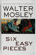 Books:Mystery & Detective Fiction, Walter Mosley. INSCRIBED. Six Easy Pieces. Atria, 2003.First edition, first printing. Signed and inscribed by the...