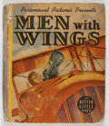 """Books:Children's Books, [Big Little Books]. Men with Wings. Whitman, 1938. Firstedition, first printing. """"1475"""" on spine. Toning and foxing..."""