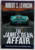 Books:Mystery & Detective Fiction, Robert S. Levinson. SIGNED. The James Dean Affair. Forge,2000. First edition, first printing. Signed by the autho...