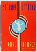 Books:Mystery & Detective Fiction, Carl Hiaasen. SIGNED. Stormy Weather. Knopf, 1995. Firstedition, first printing. Signed by the author. Fine....