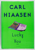 Books:Mystery & Detective Fiction, Carl Hiaasen. SIGNED. Lucky You. Knopf, 1997. First edition,first printing. Signed by the author. Fine....