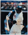 Books:Sporting Books, Tony Gwynn. SIGNED. The Art of Hitting. GT, 1998. Firstedition, first printing. Signed by the author. Fine....
