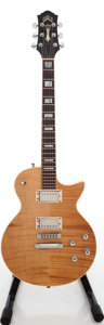 Musical Instruments:Electric Guitars, 1998 Guild Bluesbird Natural Solid Body Electric Guitar, Serial #CL002033....