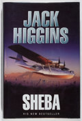 Books:Mystery & Detective Fiction, Jack Higgins. SIGNED. Sheba. Michael Joseph, 1963. Firstedition, first printing. Signed by the author. Fine....