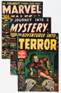 Golden Age (1938-1955):Horror, Atlas Comics Golden Age Horror Group (Atlas, 1952-54) Condition:Average GD/VG.... (Total: 5 Comic Books)