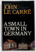 Books:Mystery & Detective Fiction, John le Carre. A Small Town in Germany. Heinemann, 1968.First edition, first printing. Offsetting. Front hinge ...