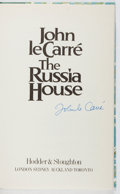 Books:Mystery & Detective Fiction, John le Carre. SIGNED/LIMITED. The Russia House. Hodder & Stoughton, 1989. First edition, first printing. Limi...