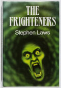 Books:Horror & Supernatural, Stephen Laws. SIGNED. The Frighteners. Souvenir, 1990. Firstedition, first printing. Signed by the author. Mild...