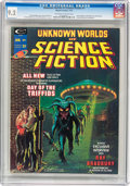 Magazines:Science-Fiction, Unknown Worlds of Science Fiction #1 (Marvel, 1975) CGC NM- 9.2Off-white to white pages....