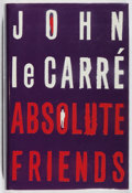 Books:Mystery & Detective Fiction, John le Carre. SIGNED. Absolute Friends. Hodder &Stoughton, 2003. First edition, first printing. Signed by th...