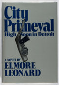 Books:Mystery & Detective Fiction, Elmore Leonard. City Primeval. Arbor House, 1980. Firstedition, first printing. Mild toning and rubbing, else fine....