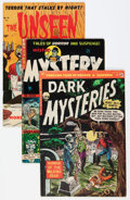 Golden Age (1938-1955):Horror, Miscellaneous Golden Age Horror Comics Group (Various Publishers,1952-54) Condition: Average VG-.... (Total: 12 Comic Books)