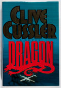 Books:Mystery & Detective Fiction, Clive Cussler. SIGNED. Dragon. Simon and Schuster, 1990. First edition, first printing. Signed by the author. Fa...