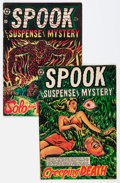 Golden Age (1938-1955):Horror, Spook #28 and 29 Group (Star Publications, 1954).... (Total: 2Comic Books)