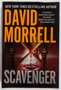 Books:Mystery & Detective Fiction, David Morrell. SIGNED. Scavenger. Vanguard, 2007. Firstedition, first printing. Signed by the author. Fine....