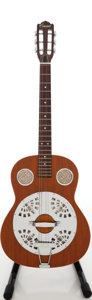 Musical Instruments:Resonator Guitars, 1970s Conrad Natural Resonator Guitar....