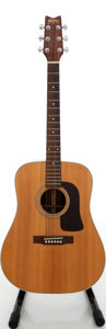 Musical Instruments:Acoustic Guitars, 1980s Washburn Natural Acoustic Guitar, Serial # 830764....